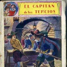 Cómics: EL CAPITAN DE LOS TERCIOS - NOVELA INFANTIL EL GATO NEGRO. Lote 49430958