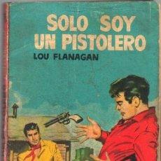 Cómics: COLECCION VAQUERO Nº 195 EDI. BRUGUERA 1961 - LOU FLANAGAN - SOLO SOY UN PISTOLERO - 128 PGS.. Lote 49720808