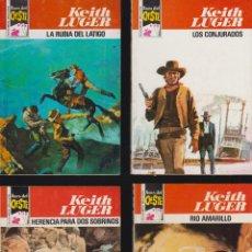 Cómics: BOLSILIBROS OESTE, KEITH LUGER , LOTE DE 31 EJEMPLARES, - ASES DEL OESTE - ( MUY BUEN ESTADO ). Lote 50165916