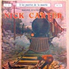 Cómics: NUEVOS EPISODIOS DE NICK CARTER Nº 40. Lote 50693736