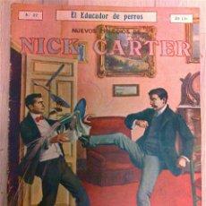 Cómics: NUEVOS EPISODIOS DE NICK CARTER Nº 37. Lote 50693745