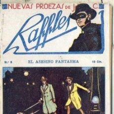 Cómics: NUEVAS PROEZAS DE RAFFLES Nº 8 : EL ASESINO FANTASMA. Lote 50888614