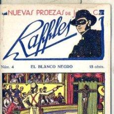 Cómics: NUEVAS PROEZAS DE RAFFLES Nº 4 : EL BLANCO NEGRO. Lote 50888625
