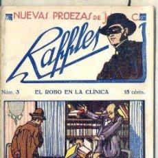 Cómics: NUEVAS PROEZAS DE RAFFLES Nº 3 : EL ROBO EN LA CLÍNICA. Lote 50888631