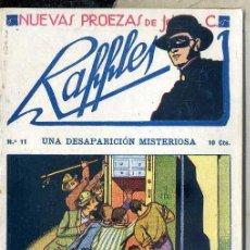 Cómics: NUEVAS PROEZAS DE RAFFLES Nº 11 : UNA DESAPARICIÓN MISTERIOSA. Lote 50888642