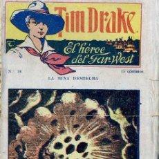 Cómics: TIM DRAKE EL HÉROE DEL FAR WEST Nº 18 : LA MINA DESHECHA. Lote 50888655