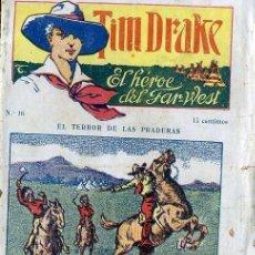 Cómics: TIM DRAKE EL HÉROE DEL FAR WEST Nº 16 : EL TERROR DE LAS PRADERAS. Lote 50888662