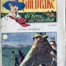 Cómics: TIM DRAKE EL HÉROE DEL FAR WEST Nº 13 : LA FUGA FRUSTRADA. Lote 50888736