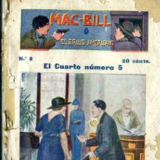 Cómics: MAC BILL EL BRUJO AMERICANO Nº 2 : EL CUARTO NÚMERO 5. Lote 50888809