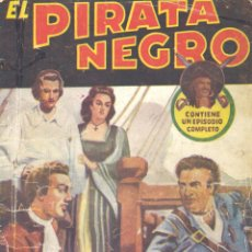 Cómics: EL PIRATA NEGRO Nº80. BRUGUERA, 194?. ARNALDO VISCONTI. Lote 51207868