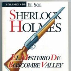 Cómics: SHERLOCK HOLMES. EL MISTERIO DE BOSCOMBE VALLEY (ARTHUR CONAN DOYLE) / BIBLIOTECA DE EL SOL, 120. Lote 51493755