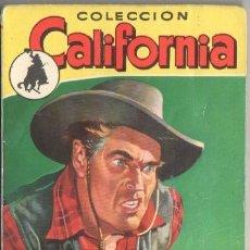 Cómics: COLECCION CALIFORNIA Nº 56 EDI. BRUGUERA 1957 - A. ROLCEST - FOTO JOHN BENTLEY. Lote 52618040