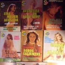 Cómics: SEXY FLASH. LOTE DE 7 NOVELAS. EDICIONES CERES, 1ª EDICION, 1979-1980. 370 GRAMOS. AMORIOS SIN FRENO. Lote 52758555