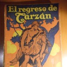 Cómics: EL REGRESO DE TARZAN. EDGAR RICE BURROUGHS. EDITORIAL GUSTAVO GILI. 1953. RUSTICA. 302 PAGINAS. 320 . Lote 53153973