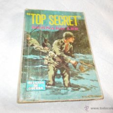 Cómics: BERNARD LEE TOP SECRET. Lote 53235607