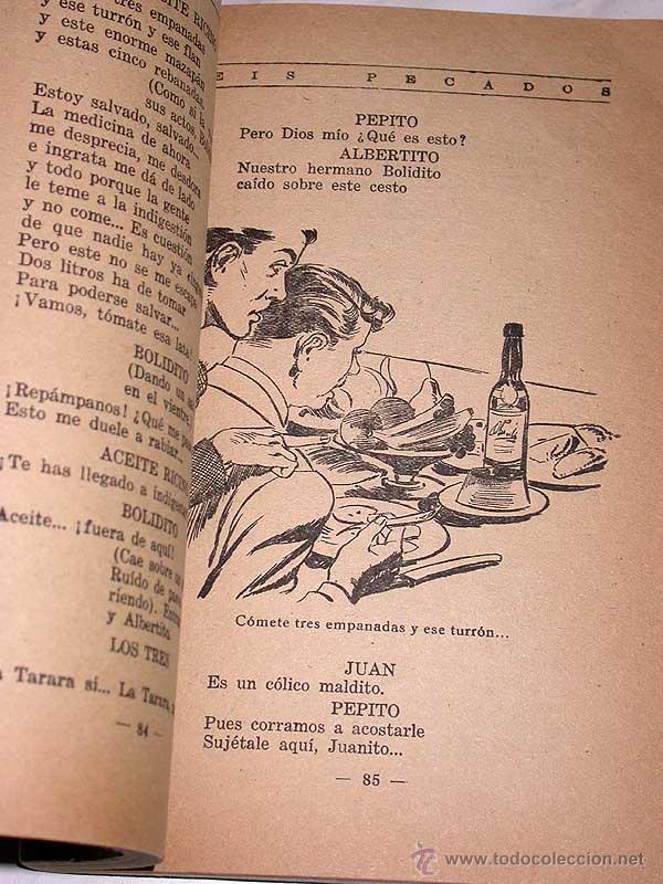 Cómics: SEIS PECADOS. JUSTA TORRES. BIBLIOTECA DE LECTURAS EJEMPLARES Nº 97. ESCELICER, 1952. +++ - Foto 2 - 53693283