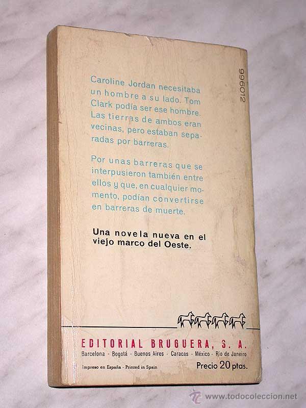 Cómics: BARRERAS DE MUERTE. CLAYTON FOX. CABALLO BLANCO OESTE 996012. BRUGUERA, 1966. +++ - Foto 2 - 53985397