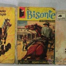 Cómics: 3 FASCICULOS COLECCION BISONTE ED. BRUGUERA 1962 - 66 -70. Lote 207213638