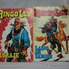 Cómics: LOTE 2 RINGO LEY, EDICIONES ALONSO 1978-79, Nº 2 Y Nº 33. Lote 207212007