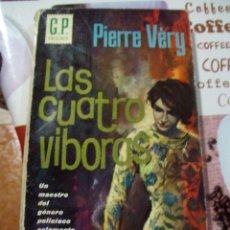 Cómics: LAS CUATRO VIBORAS PIERRE VERY BOLSILIBROS G.P. POLICIACA Nº 41. Lote 54578844