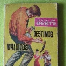 Cómics: NOVELAS DEL OESTE _ RAF COLORADO_ DESTINOS MALDITOS. Lote 237289105