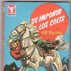 Comics: BUFALO Nº 344 - ALF REGALDIE - PORTADA EMILIO FREIXAS - 1960 BRUGUERA -LESLIE CARON FOTO. Lote 57221635