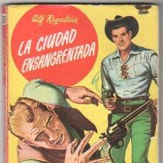 Comics: BUFALO Nº 301 - ALF REGALDIE -PORTADA PROVENSAL - F.RIVAS DIBUJOS-1959 BRUGUERA - ERIKA REMBERQ FOTO. Lote 57221777