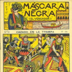 Cómics: MASCARA NEGRA Nº8. EDITORIAL EL GATO NEGRO. ANTIGUA BRUGUERA. DIBUJOS DE NIEL. Lote 57441988