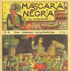 Cómics: MÁSCARA NEGRA Nº25 (EL VENGADOR). EDITORIAL EL GATO NEGRO (ANTIGUA BRUGUERA). DIBUJOS DE NIEL. Lote 57555015