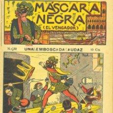 Cómics: MÁSCARA NEGRA Nº32 (EL VENGADOR). EDITORIAL EL GATO NEGRO (ANTIGUA BRUGUERA). DIBUJOS DE NIEL. Lote 57872916
