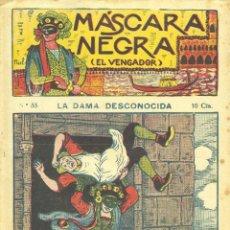 Cómics: MÁSCARA NEGRA Nº33 (EL VENGADOR). EDITORIAL EL GATO NEGRO (ANTIGUA BRUGUERA). DIBUJOS DE NIEL. Lote 57893627