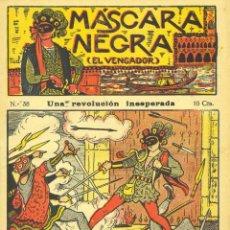 Cómics: MÁSCARA NEGRA Nº38 (EL VENGADOR). EDITORIAL EL GATO NEGRO (ANTIGUA BRUGUERA). DIBUJOS DE NIEL. Lote 57998851