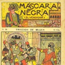 Cómics: MÁSCARA NEGRA Nº39 (EL VENGADOR). EDITORIAL EL GATO NEGRO (ANTIGUA BRUGUERA). DIBUJOS DE NIEL. Lote 58014158