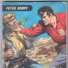 Cómics: COLECCION COLORADO Nº 9 - 1957 - PETER DEBRY - FOTO SILVANA MANGANO - MORIR ENSILLADO. Lote 58207084