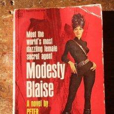 Cómics: MODESTY BLAISE MEET THE WORLD´S FEMALE SECRET AGENT 1966 ORIGINAL INGLES. Lote 58476100