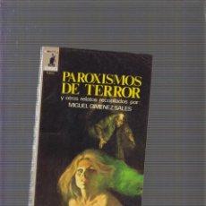 Cómics: BIBLIOTECA ORO TERROR MOLINO Nº 38. PAROXISMOS DE TERROR.Y OTROS. RECOP. MIGUEL JIMENEZ, MOLINO 1975. Lote 58530223