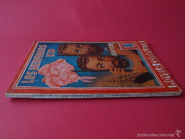 Cómics: LOS HERMANOS KIP - JULIO VERNE - COLECCION GRANDES AUTORES Nº 9 - AMELLER EDITOR - Foto 2 - 60318687