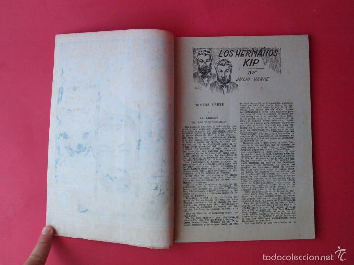 Cómics: LOS HERMANOS KIP - JULIO VERNE - COLECCION GRANDES AUTORES Nº 9 - AMELLER EDITOR - Foto 3 - 60318687