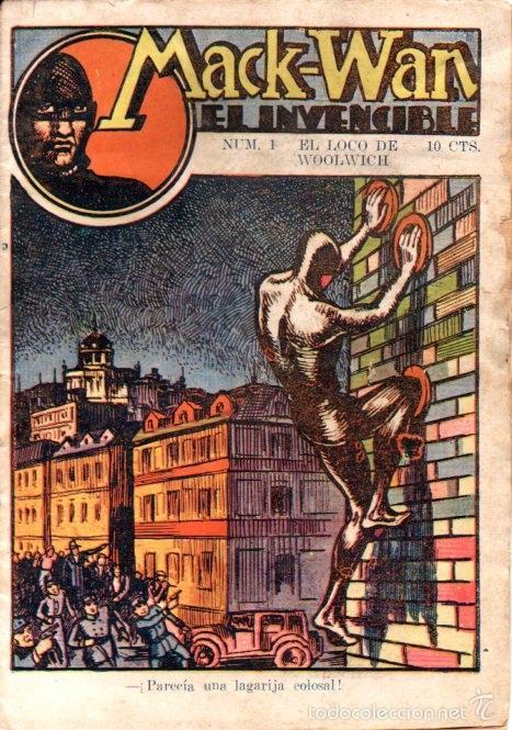 MACK WAN EL INVENCIBLE Nº 1 : EL LOCO DE WOOLWICH (Tebeos, Comics y Pulp - Pulp)