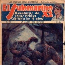 Cómics: EL SUBMARINO X2 Nº 40 : LA ALDEA DEL ESPANTO. Lote 60499835