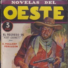 Comics: NOVELA COLECCION NOVELAS DEL OESTE Nº 2. Lote 60790135