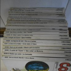 Cómics: EL COYOTE. JOSE MALLORQUI. LOTE DE 18 NOVELAS. EDICIONES FORUM. NUMEROS: 43, 44, 45, 46, 47, 48, 50,. Lote 61760844