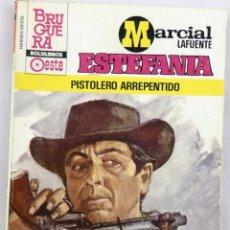 Cómics: BRUGUERA BOLSILIBROS OESTE. PISTOLERO ARREPENTIDO. MARCIAL LAFUENTE ESTEFANÍA.. Lote 62367088