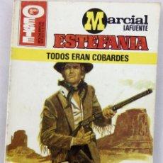 Cómics: MARCIAL LAFUENTE ESTEFANIA. TODOS ERAN COBARDES. HEROES DEL OESTE. BRUGUERA. Lote 62367212