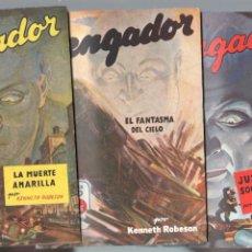 Cómics: EL VENGADOR NºS - 1 - 2 - 3 - EDI. MOLINO 1948 POR KENNETH ROBESON AUTOR DE DOC SAVAGE, MUY NUEVOS -. Lote 63109184