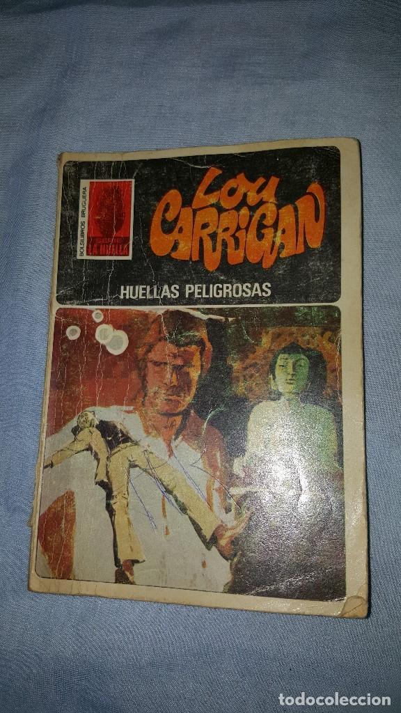 SERIE LA HUELLA - HUELLAS PELIGROSAS - LOU CARRIGAN - Nº37 (Tebeos, Comics y Pulp - Pulp)