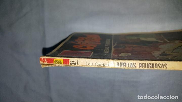 Cómics: SERIE LA HUELLA - HUELLAS PELIGROSAS - LOU CARRIGAN - Nº37 - Foto 2 - 63489256