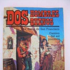 Cómics: UNA DAMA DE SAN FRANCISCO - CAMINO DEL SOL PONIENTE, DOS HOMBRES BUENOS Nº60 J. MALLORQUI FORUM 1987. Lote 288723893