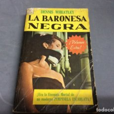 Cómics: LA BARONESA NEGRA / DENNIS WHEATLEY. NOVARO, JOYAS DE BOLSILLO, Nº 329. AÑO 1968. Lote 64607915