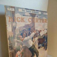 Cómics: NUEVOS EPISODIOS DE NICK CARTER 29. UNA CACERÍA ACCIDENTADA. ED SOPENA, AÑOS 20-30. Lote 288611608